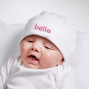 Personalized Baby Hat - Snug As A Bug - 15339