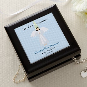 Personalization Mall Personalized First Communion Jewelry Memory Box at Sears.com