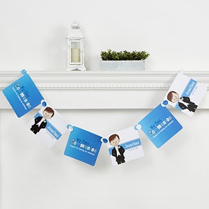 Personalized Religious Paper Party Banner - I'm The Communion Boy - 15399