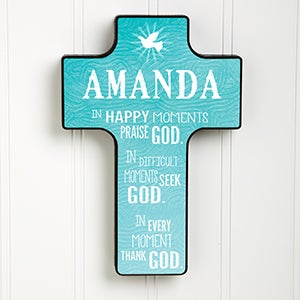My Blessing Personalized Wall Cross