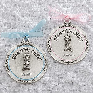 Personalized Religious Medallion - First Communion - 15407