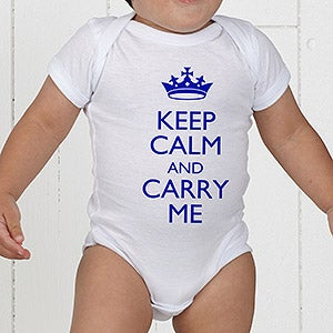 Keep Calm Personalized Apparel - 15421
