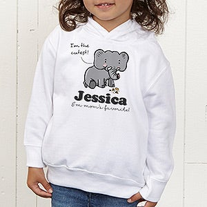 Personalized Kids Apparel - Elephant Love - 15427