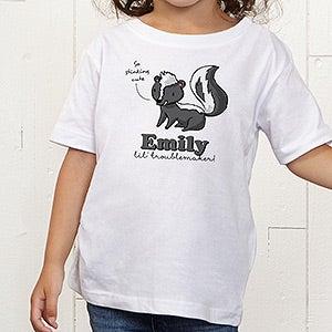 Personalized Kids Apparel - Lovable Skunk - 15430
