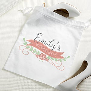 Personalized Shoe Bag - The Perfect Pair - 15449