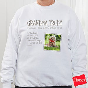 Personalized Apparel - Definition Of Her - 15461