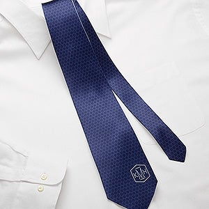 Personalized Men's Tie - Monogram - 15486