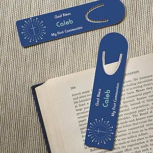Personalized Religious Bookmark Set - God Bless - 15510