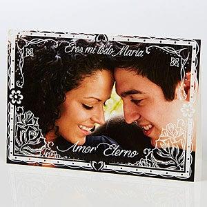 Personalized Spanish Photo Greeting Card - Heartfelt Impression - 15526
