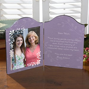 Personalized Photo Plaque - What You Mean To Me - 15563