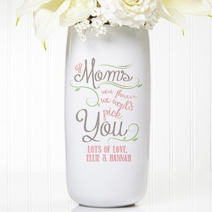 Personalized Ceramic Vase - Loving Words To Her - 15565