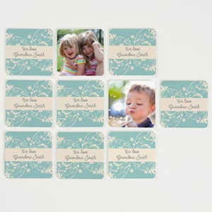 Personalized Photo Memory Game - Grandma's Game Time - 15572