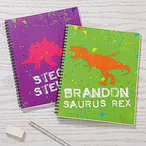 Personalized Kids Notebooks - Dinosaur - 15703