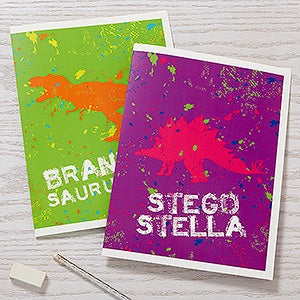 Personalized Folders - Dinosaur - 15704