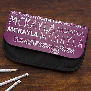 Personalized Pencil Case - My Name - 15708