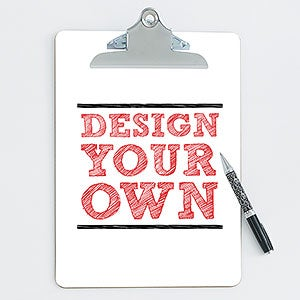 Design Your Own Personalized Clipboard - 15730