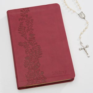 Personalized Ladies Floral Travel Bible - 15743