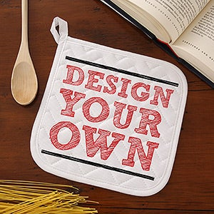 Design Your Own Personalized Potholder - 15759