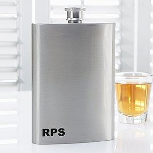 Personalized Premium Pocket Flask - Golden Era - 15797