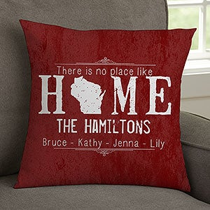 Personalized Keepsake Pillow - State Of Love - 15804