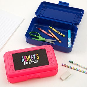 Personalized Pencil Box - All Mine - 15816