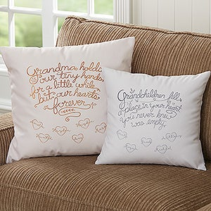 Blankets & Pillows For Grandparents | PersonalizationMall.com