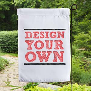 Design Your Own Garden sustainable garden Design Your Own Personalized Garden Flag