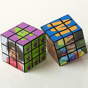 Personalized Photo Rubik's Cube - Happy Hands - 15893