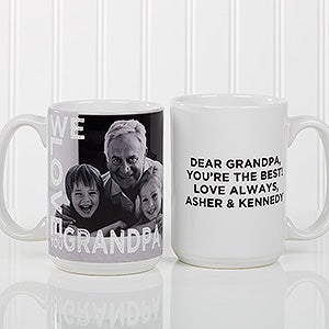 Personalized Photo Coffee Mug - Loving Them - 15932