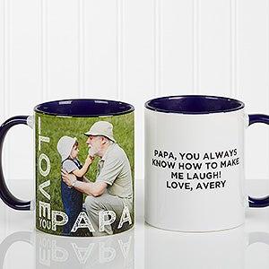 Personalized Photo Coffee Mug - Loving Them - 15932