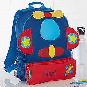 Buy Personalized Kids Backpacks With Our Embroidered Airplane And Other Fun Designs Add Any Name Free Personalization Fast Shipping