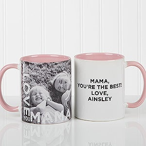 Personalized Ladies Photo Coffee Mug - Loving Them  - 15998
