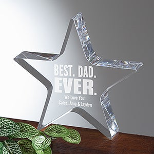 Best. Dad. Ever. Personalized Award