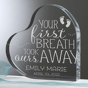 You Took Our Breath Away Personalized Baby Keepsake-16025