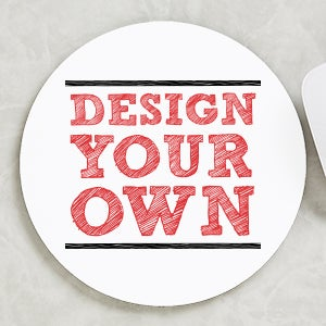 Design Your Own Personalized Round Mouse Pad - 16068