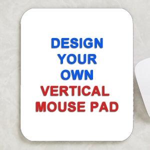 design your own personalized vertical mouse pad design. Black Bedroom Furniture Sets. Home Design Ideas