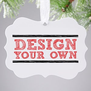 Design Your Own Personalized 2-Sided Ornament - 16079