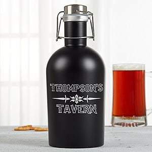 Stainless Steel Insulated Personalized Growler - 16116