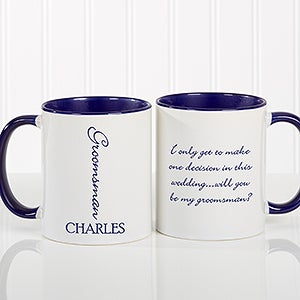 Personalized Wedding Coffee Mug - Bridal Brigade - 16127
