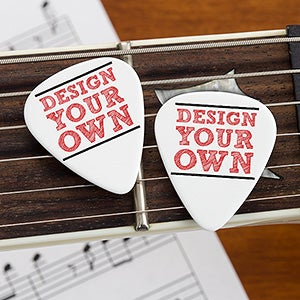 Design Your Own Custom Guitar Picks