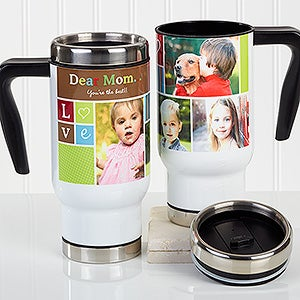 Personalized Commuter Mug - Photo Fun - 16164