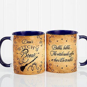 Personalized Halloween Coffee Mug - Witch's Brew - 16200