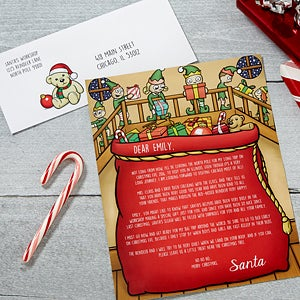 Personalized Letter from Santa - Santa's Helper - 16241