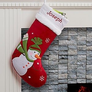 Personalized Christmas Stockings - Santa Claus Lane - 16275