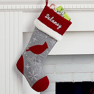 Personalized Christmas Stocking - Wintertime Wishes - 16280