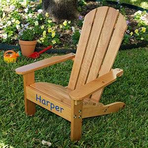 Personalized KidKraft Adirondack Chair - 16281D