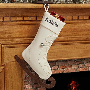 Personalized Christmas Stockings - Ice Skating - 16285