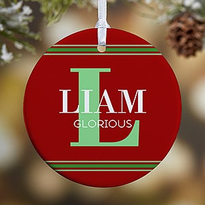 Personalized Christmas Ornament - My Name Means ... - 16297