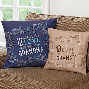 Personalized Decorative Throw Pillows - Reasons Why - 16303