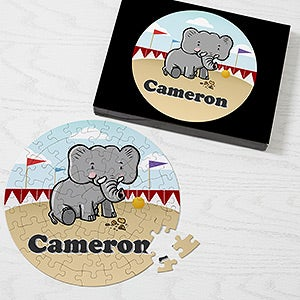 Personalized Puzzle - Lovable Animals - 16317